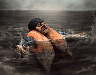 """Check out new work on my @Behance portfolio: """"El Salvavidas (The Life Jacket) - 2016"""" http://be.net/gallery/36003301/El-Salvavidas-(The-Life-Jacket)-2016"""