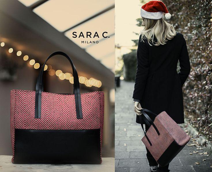 Perfetta per te oppure per chi ami. A Natale regala una Sara C.: http://www.saracmilano.it/it/shop [Photo Credits: Nale Michela photography ] #BuonNatale #theperfectbag