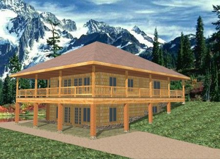 Ranch house plans with walkout basement house plans for for Daylight basement plans