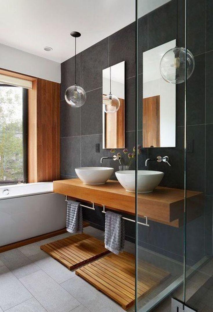 Kühle moderne Haus-Innenarchitektur-Ideen 17   – interior decorating ideas – #D…  # Bad