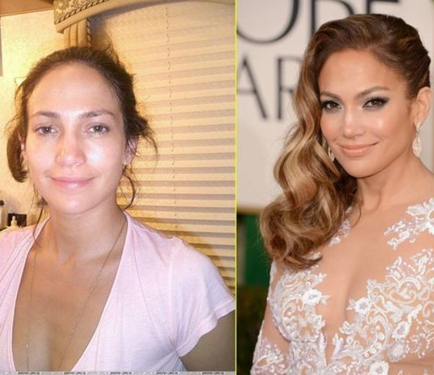 Jennifer Lopez `JLo` With  Without Makeup @Luuux #Jennifer_Lopez #JLo #With #Without #Makeup