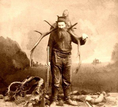 Mountain man, ca. 1880