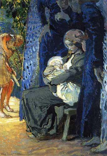 Józef Mehoffer Święta Rodzina, 1913 Muzeum Mazowieckie w Płocku: