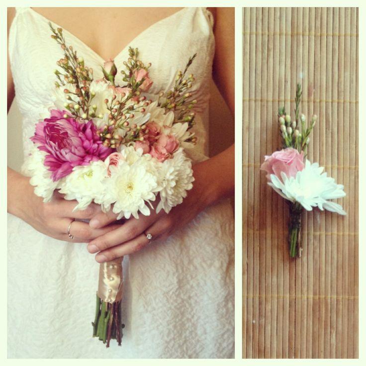 Bridal bouquet #handmade #wedding