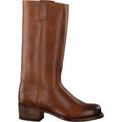 Sendra Hohe Stiefel 3299 Cognac Damen Sendra Boots