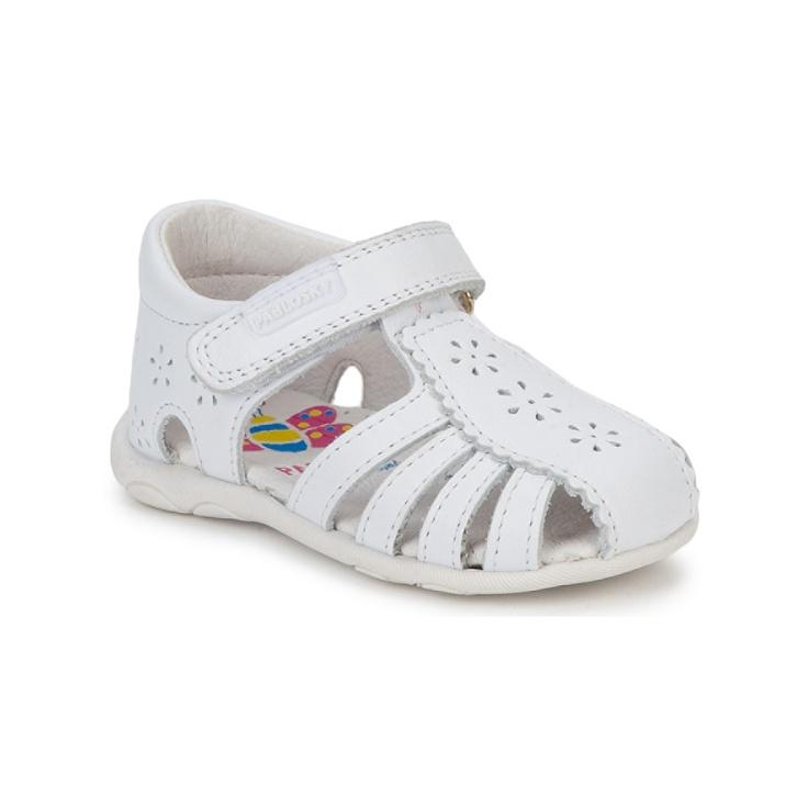 Sandalias Pablosky CADIX Blanco - Entrega gratuita con Spartoo.es ! - Zapatos Nino 36,00 €