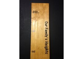 Timber Height Charts