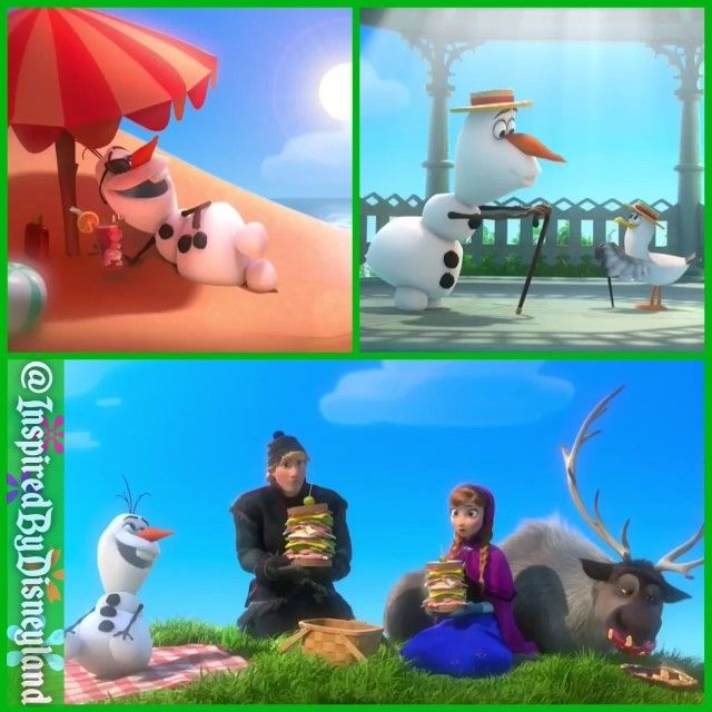Olaf's Summer Song - - Click to play video ;)