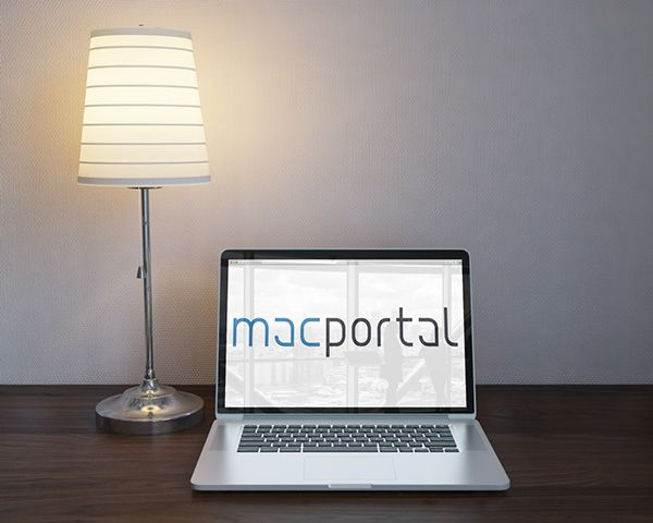 Macportal logo re-design