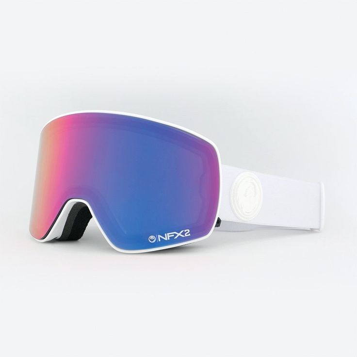 Other Snowboarding 159155: New Dragon Nfx2 Ski Snowboard Goggles Whiteout Pink Ion Plus Bonus Lens -> BUY IT NOW ONLY: $116.97 on eBay!