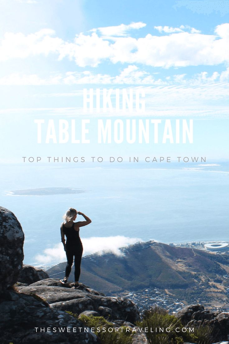 Table Mountain Hike - top things to do in Cape Town. Travel blog photo diary. Female solo travel blog. South Africa travel blog.