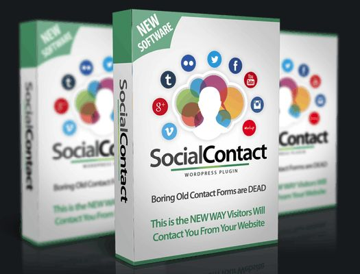 WP Social Contact Pro Plugin By Ankur Shukla is the way easier to get contact with one-click wordpress plugin that will allow you to make more income from your websites.   #wpsocialcontact #wordpress #plugin #socialmediamarketing #traffic #sites #websites