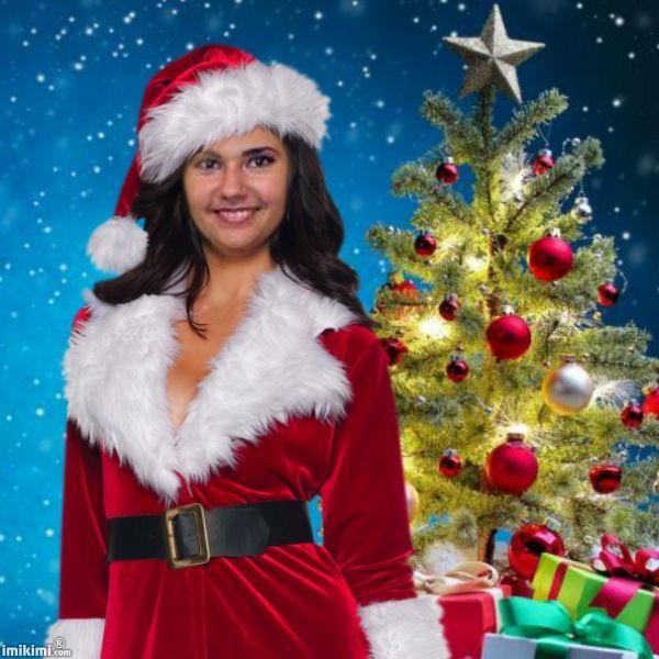 Beautiful Santa Girl