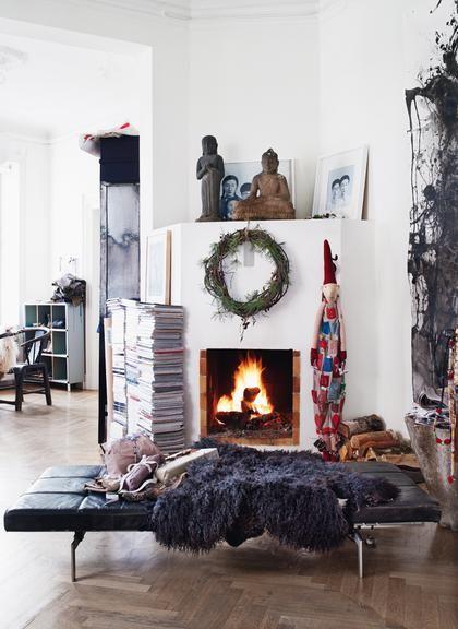 Ρεβεγιόν στο σπίτι Φωτογράφιση: Kristian Septimius Krogh | deco , υπέροχα σπίτια | ELLE