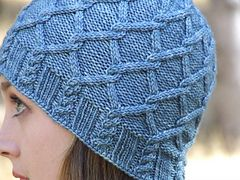 Ravelry: Grey Havens Hat pattern by Maria Olson + matching cowl