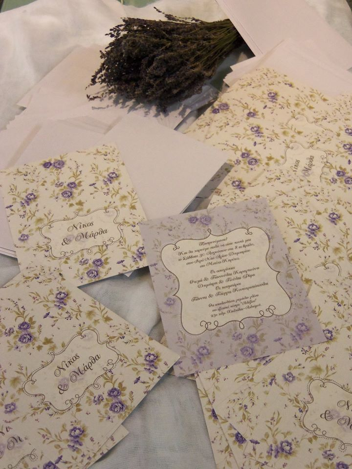 Wedding invitations <3 - by Events2Love.gr