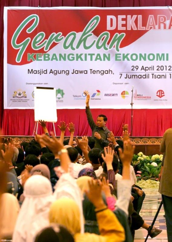 Deklarasi gerakan kebangkitan umat di Semarang