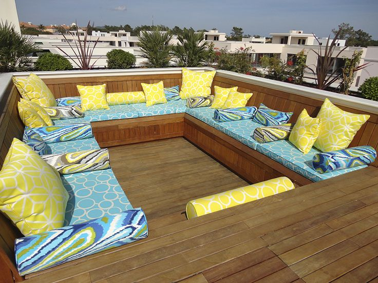 Outdoor Cushions by Limitless Creations. Design by E3 Property.