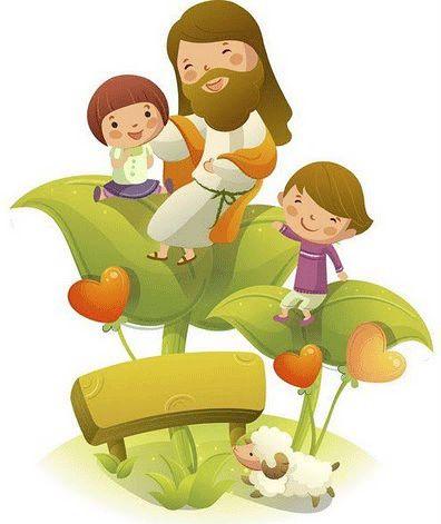 jesus y los niños animado - Buscar con Google