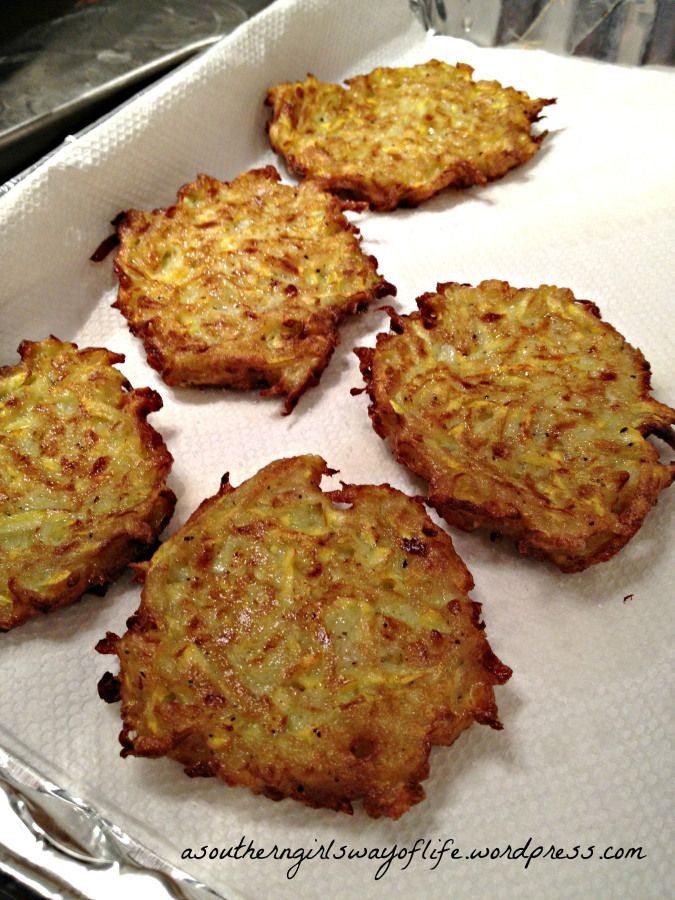 Fried Squash Patties