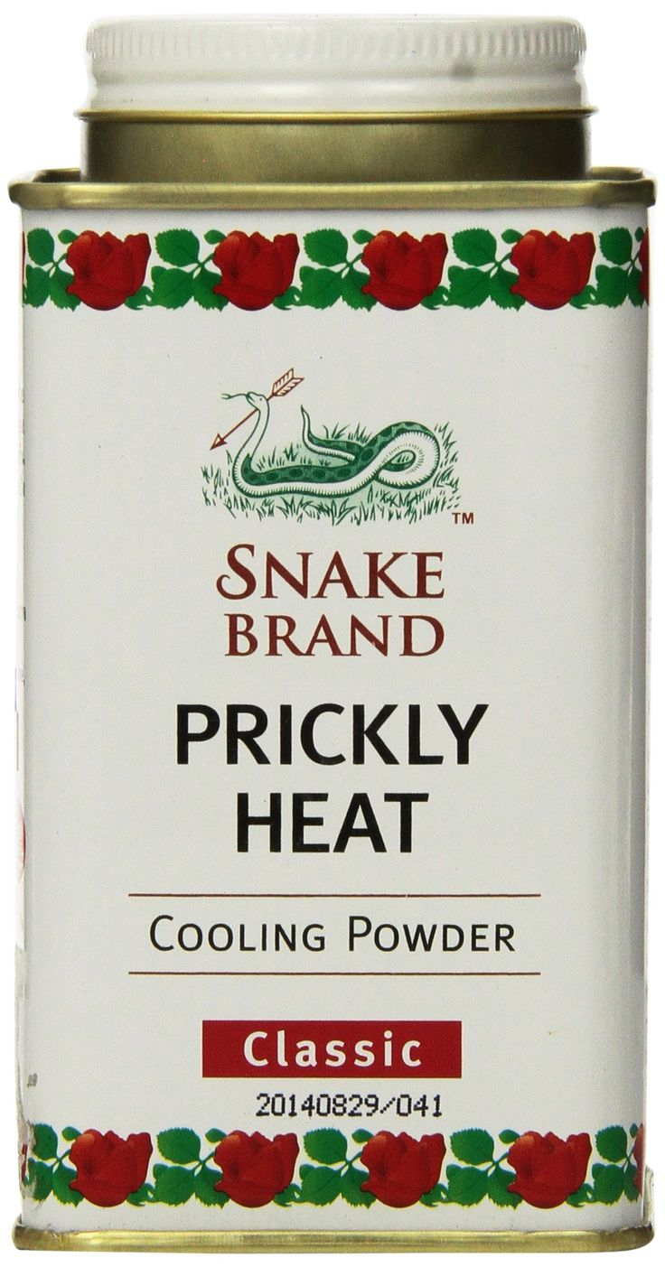Prickly Heat Powder Snake Brand Classic Scent (150 gram) - Prickly heat, cool powder, heat rash, heat rash treatment
