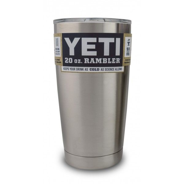 YETI. Best thing my hubby's ever got me! Keeps coffee hot for hours! Cold drinks cold!!!