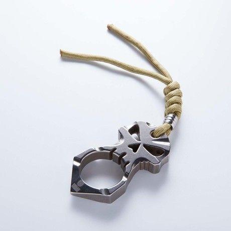 Urban Operators // Titanium Skull Design Self Defense Tool
