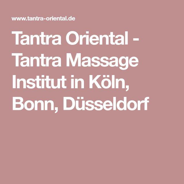 Tantra Oriental - Tantra Massage Institut in Köln, Bonn, Düsseldorf