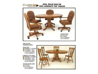 Shop For GS Furniture Solid Oak 48u0027u0027 Round Table Top, CL2T486911 TOP