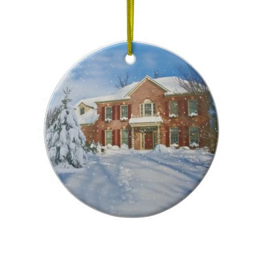 23 best New House Christmas Ornaments images on Pinterest