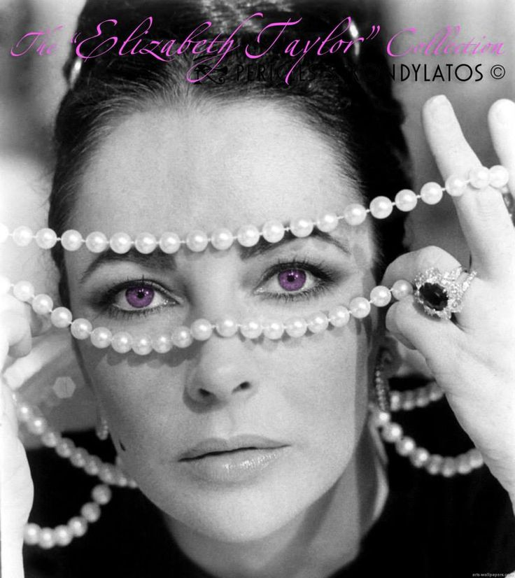 "The ""Elizabeth Taylor"" collection by Pericles Kondylatos A collection inspired by Elizabeth Taylor"
