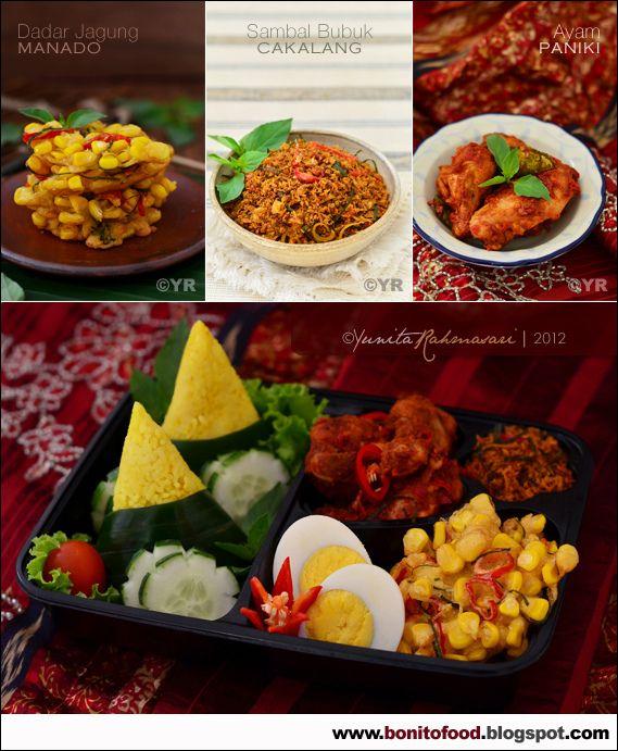 Indonesian dish: Nasi kuning Manado #rice