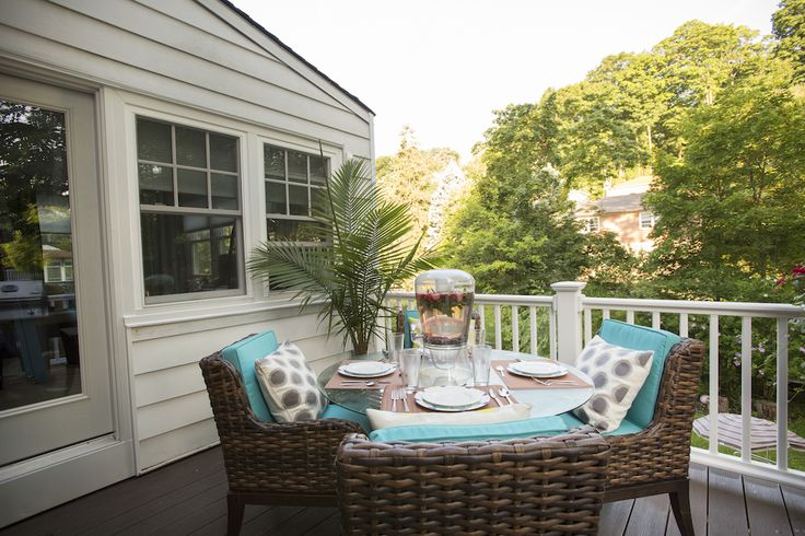 Beth & Christopher's DECK REVEAL | Buying & Selling