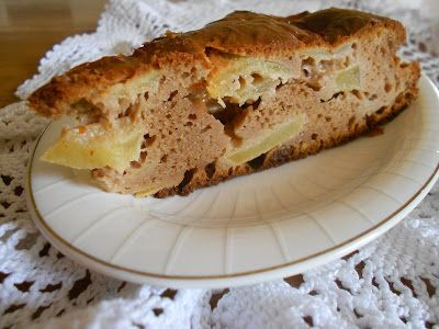Q B Le ricette light: Ai fornelli con QB e Roberta: Torta di farina di castagne e mele con Stevia