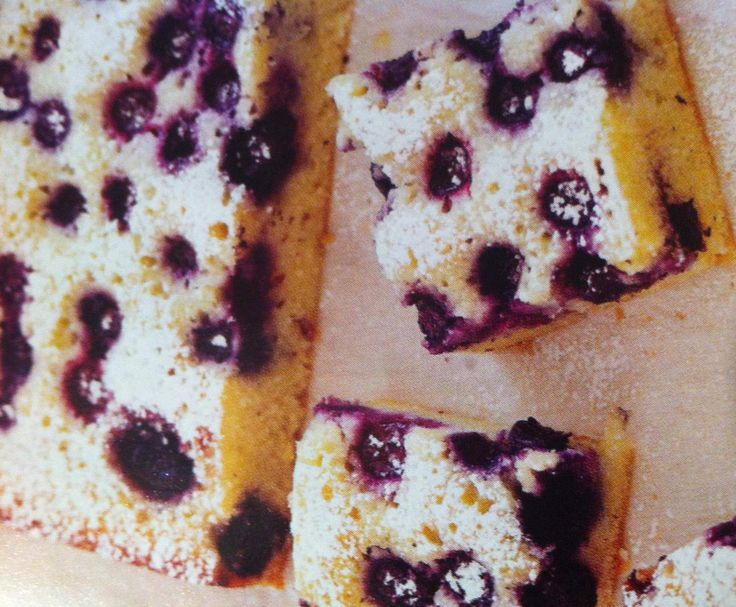 Recipe Blueberry Friand Slice by JJ_Leigh - Recipe of category Baking - sweet
