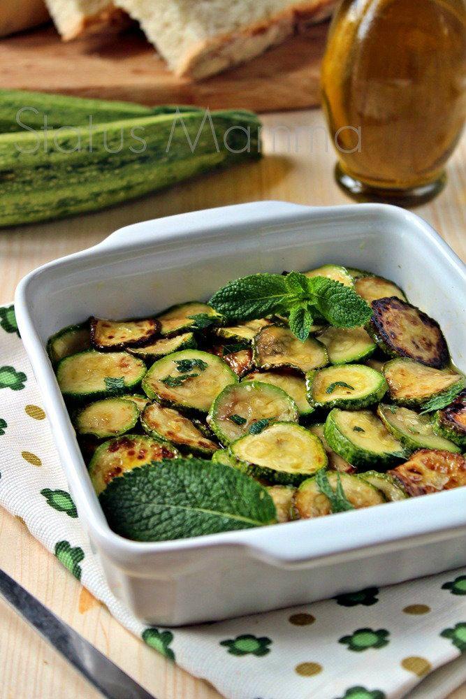 zucchine marinate ricetta vegetariana vegan Statusmamma Giallozafferano foto…