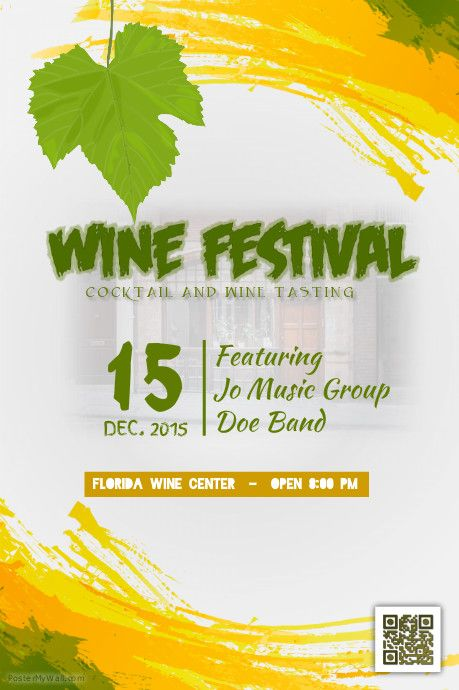 wine festival poster wine tasting flyer template. Black Bedroom Furniture Sets. Home Design Ideas