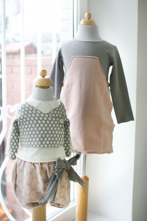 Showroom galazki.pl Baby&kids clothing store (Warsaw, Poland) Minimu chic for kids