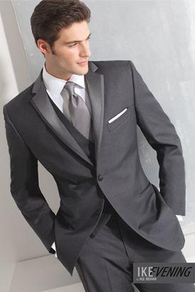 Behar Charcoal grey tuxedo - Google Search