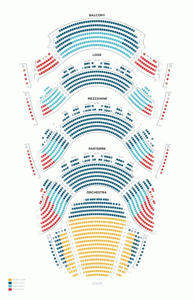 Opera House Seating Chart