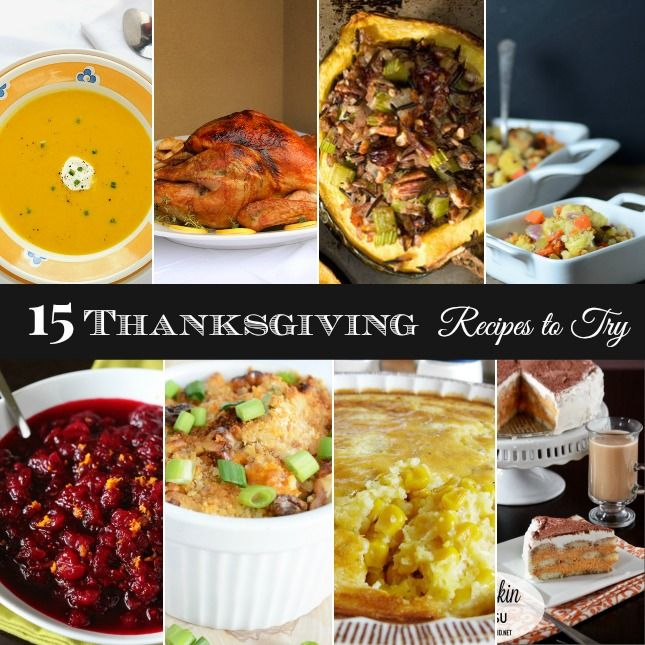15 NEW RECIPES FOR YOUR THANKSGIVING TABLE: Food Recipes, Thanksgiving Food Drink, Recipes Thanksgiving, Fall Thanksgiving, Christmas Thanksgiving, 15 Recipes, Thanksgiving Table, Easy Recipes, Food Etc
