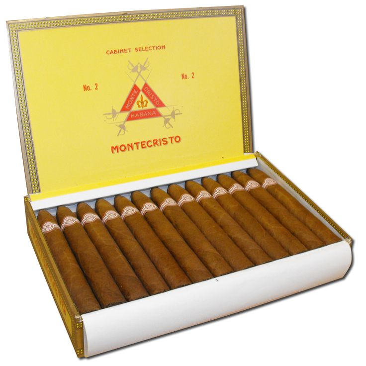 Montecristo No. 2 (full body) - The most famous cigar coming out of Cuba and our most popular cigar to date! stocky, dark and pointed. Powerful from the start, the Monte No.2 tantalizes the palate with rich wood and spice flavors, yet maintains a creamy feel the whole way through.