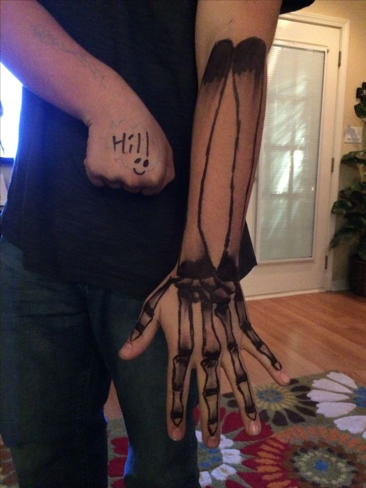 Skeleton tattoo ☠️