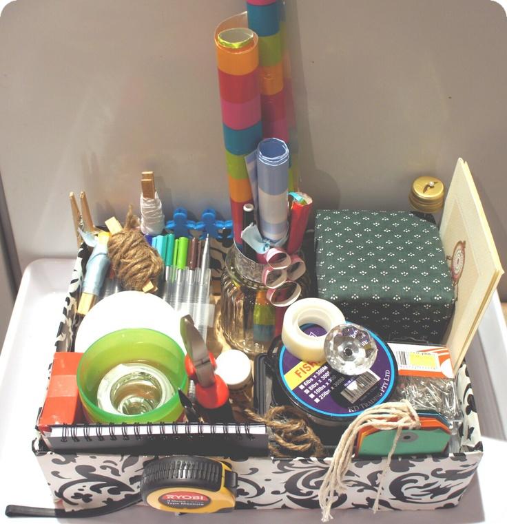My Box of Goodies...