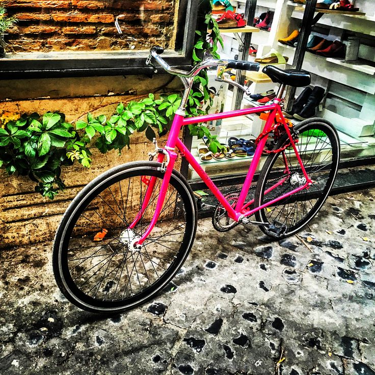 Pink Bike by Stefano Incollà - Photo 166610835 - 500px