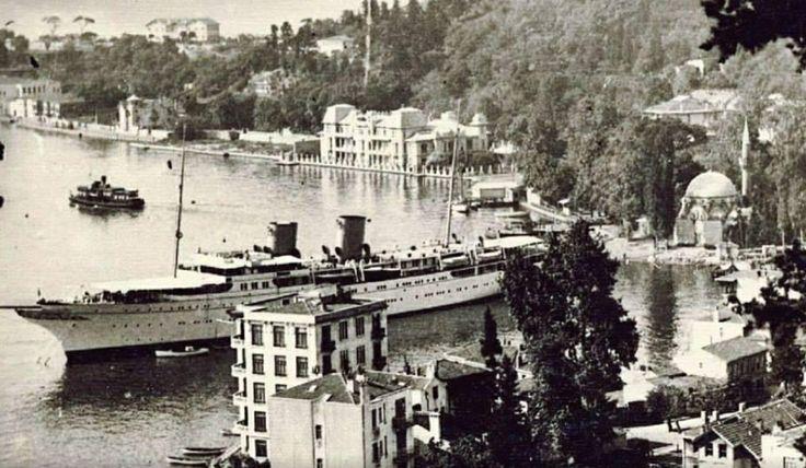 1940'larda Bebek - Savorona yatı...