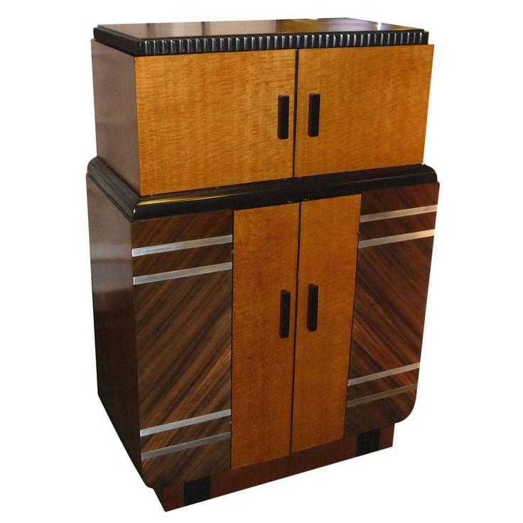 art moderne furniture. prohibition era philco art moderne furniture
