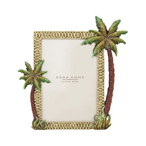Palm Tree Frame Zara Home United States Of America Pinterest And