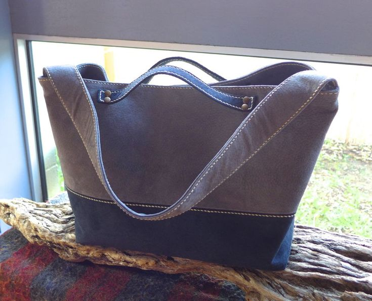 """Thanks for the kind words! ★★★★★ """"Such a great bag - so well made and such wonderful suede!"""" #etsy #leatherbag"""