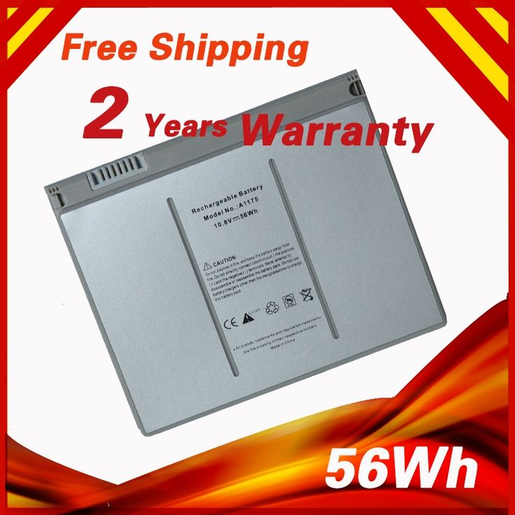 "56Wh Laptop Battery for Apple MacBook Pro 15"" A1175 A1260 MA463 MA464 MA600 MA601 MA609 MA610 MA348 MA348*/A  MA348G/A MA348J/A"